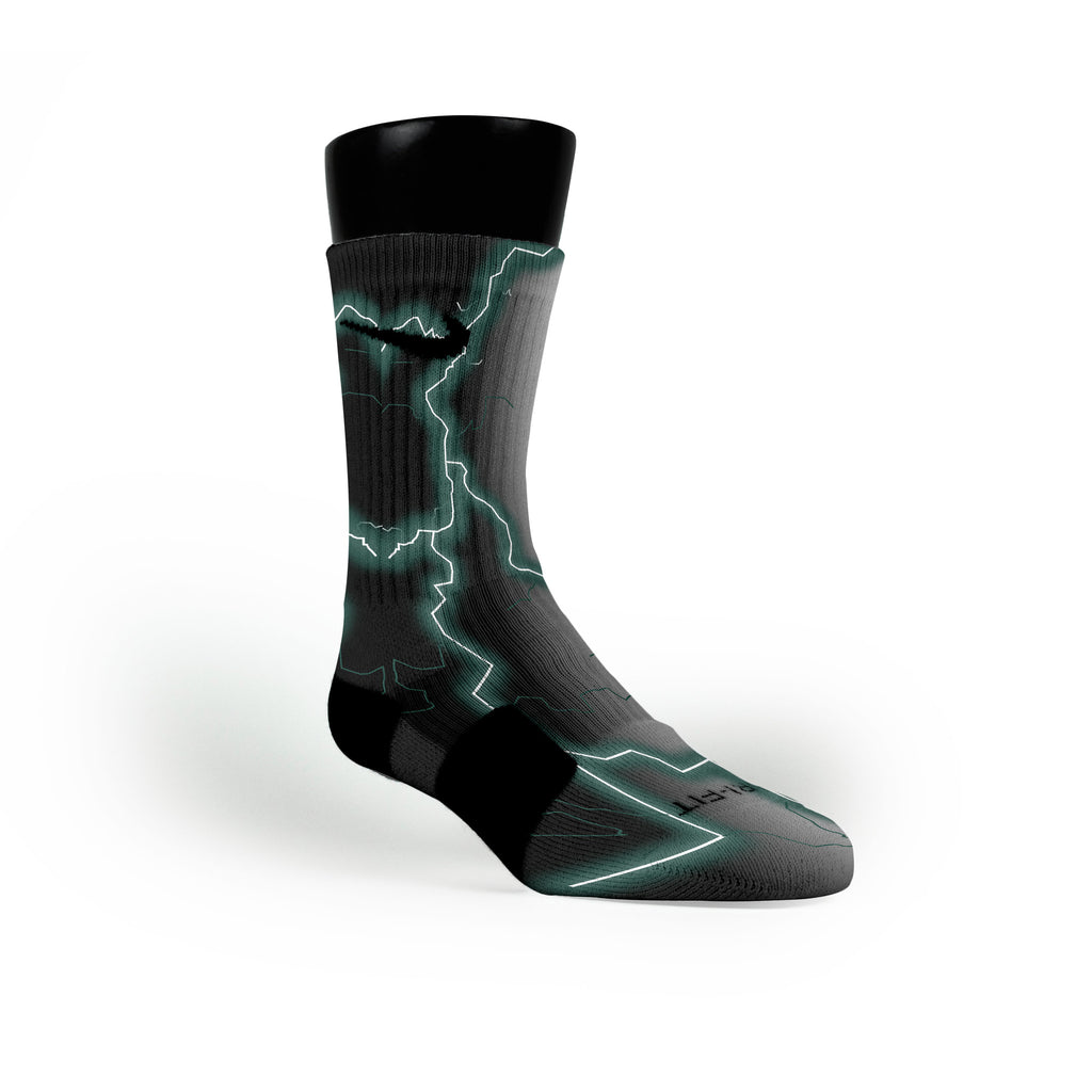 Michigan State Storm Custom Nike Elite Socks