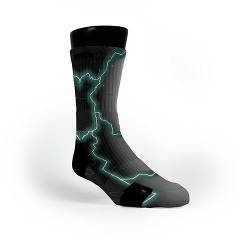 Michigan State Storm Custom Notion Socks