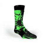 Midnight Green Swirl Custom Nike Elite Socks