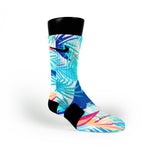 Mist Tropics Custom Nike Elite Socks