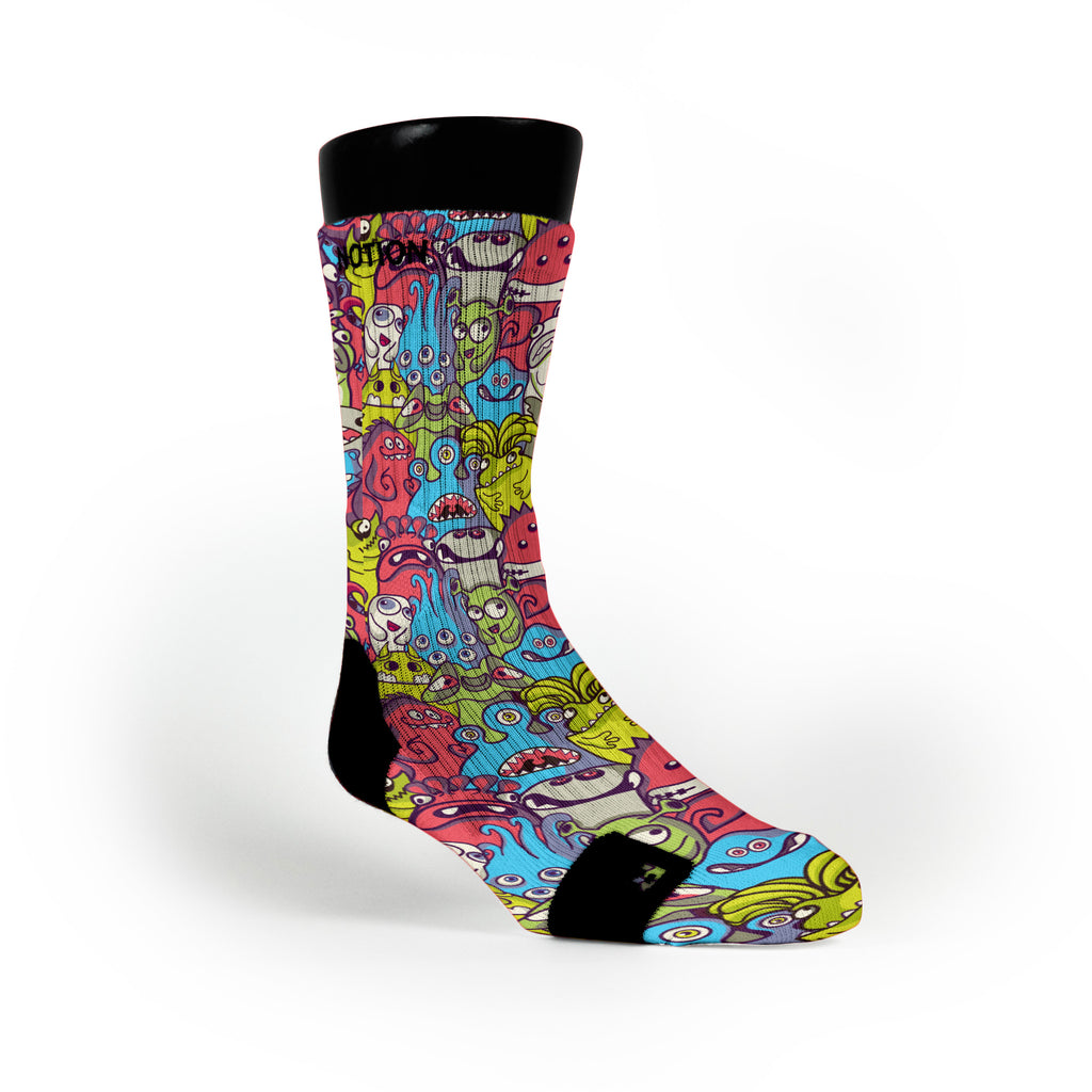 Monster Mash Custom Notion Socks