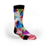 Multi Diamonds Custom Notion Socks