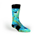 N7 Galaxy Custom Nike Elite Socks