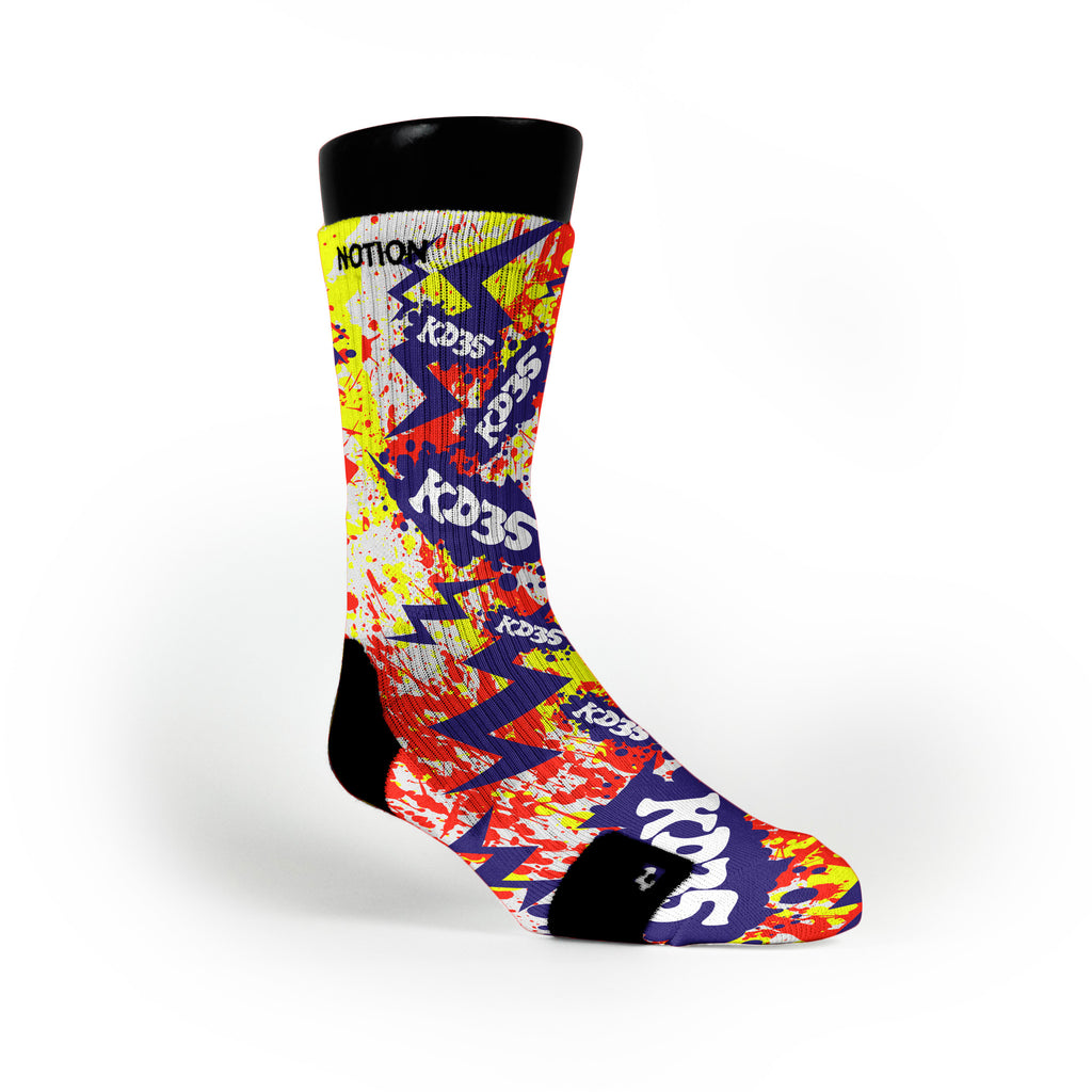 Nerf Splats Custom Notion Socks