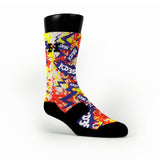 Nerf Splats Custom HoopSwagg Socks