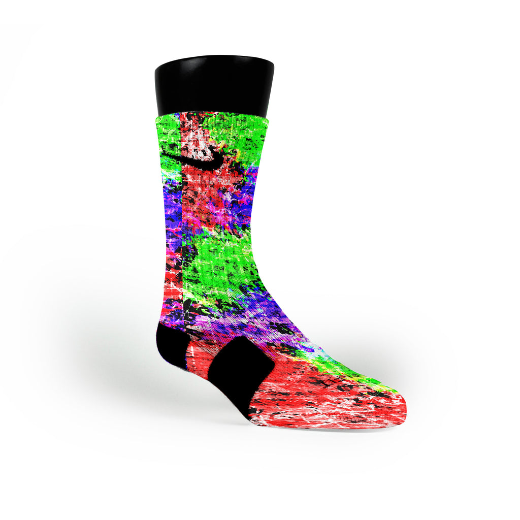 Nerf Custom Nike Elite Socks