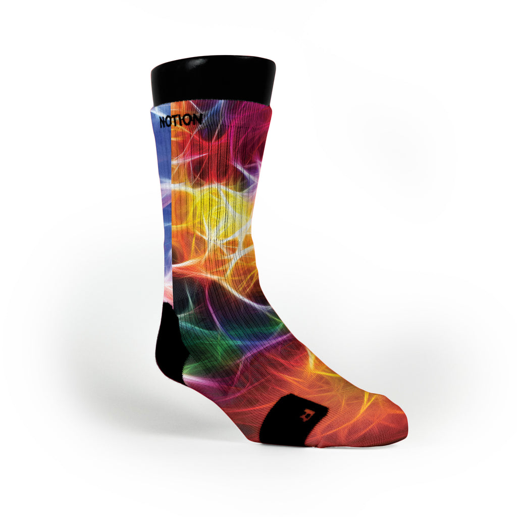 Neuron Magic Custom Notion Socks