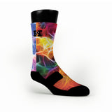 Neuron Magic Custom HoopSwagg Socks