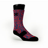 New England Maze Custom HoopSwagg Socks