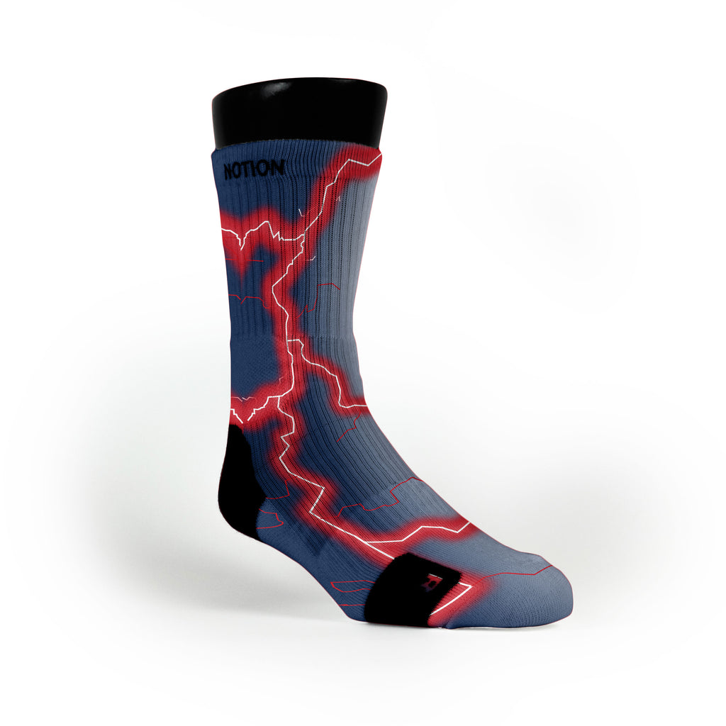 New England Storm Custom Notion Socks