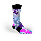 Night Paradise Tropics Custom Nike Elite Socks