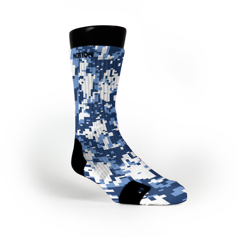 North Carolina Digital Camo Custom Notion Socks