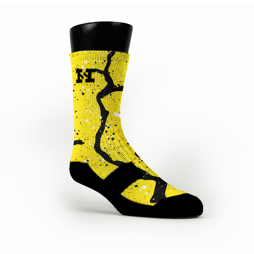 Nuke Trails Custom HoopSwagg Socks