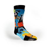 Ny Graffiti Custom Notion Socks