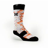 Nyc 66 Quakes Custom HoopSwagg Socks