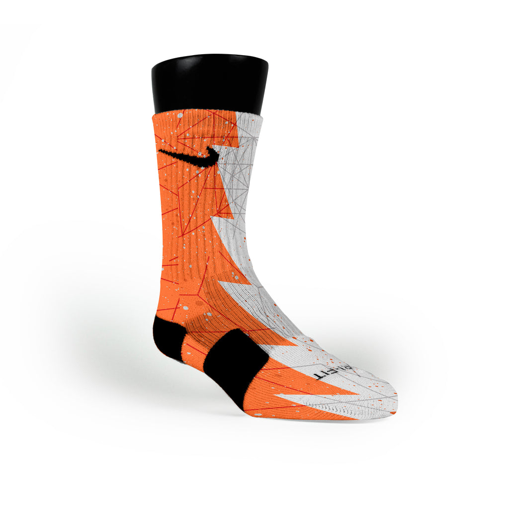 Nyc 66 Razor Custom Nike Elite Socks