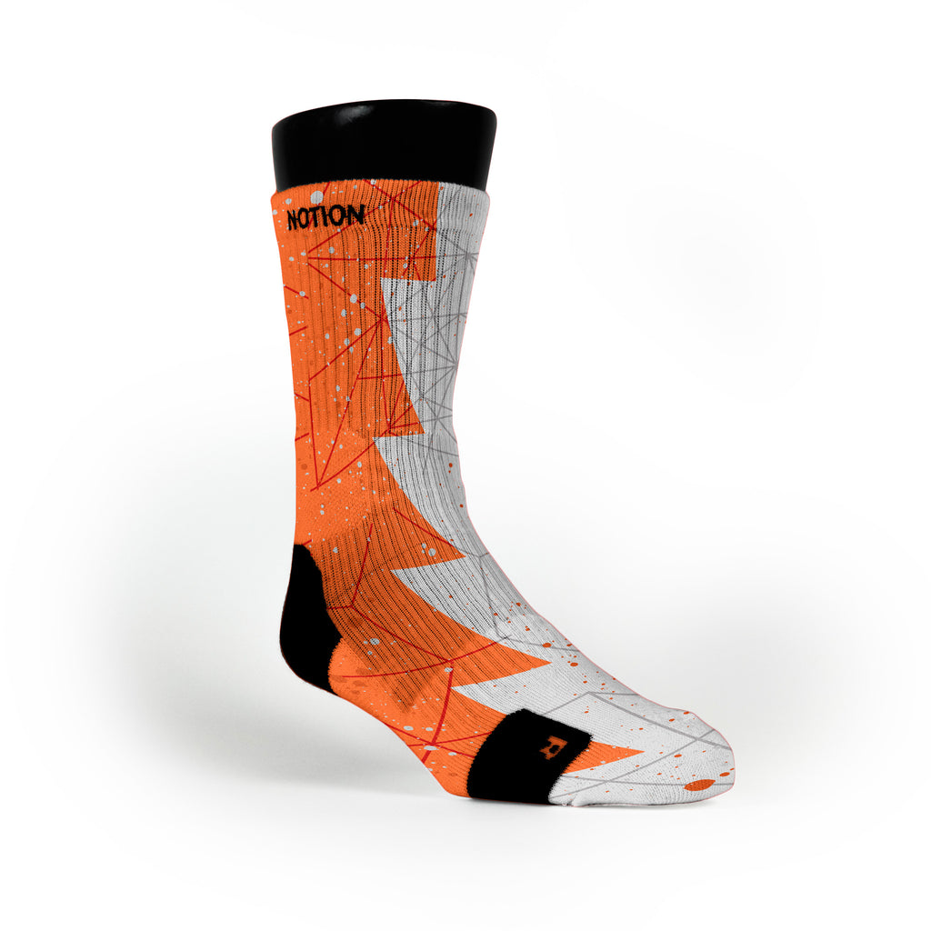Nyc 66 Razor Custom Notion Socks