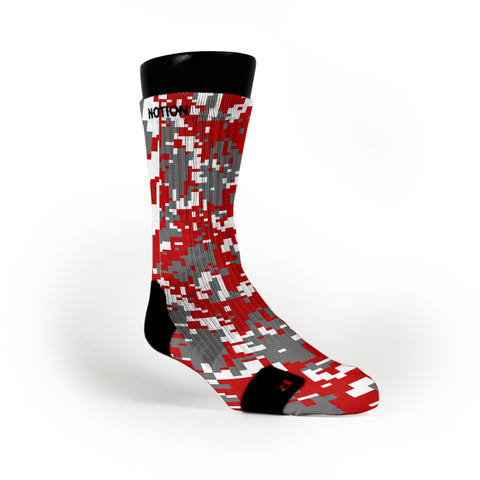 Ohio State Digital Camo Custom Notion Socks