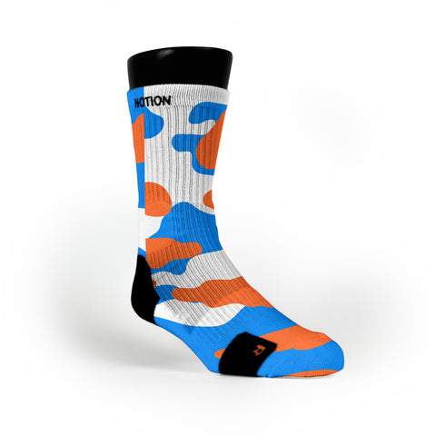 Oklahoma Camo Custom Notion Socks