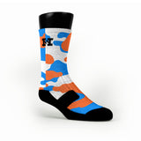 Oklahoma Camo Custom HoopSwagg Socks