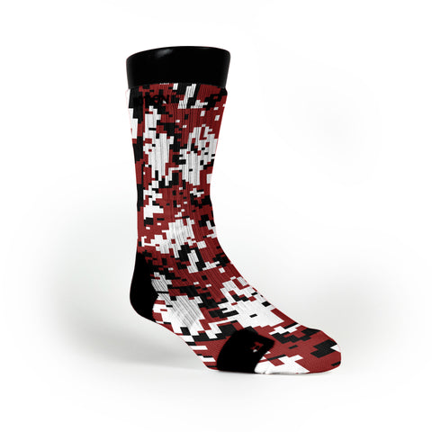 Oklahoma Digital Camo Custom Notion Socks