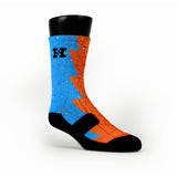 Oklahoma Razor Custom HoopSwagg Socks