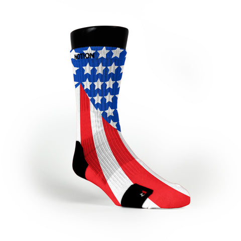Old Glory Custom Notion Socks