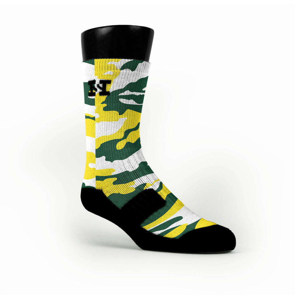 Oregon Camo Custom HoopSwagg Socks