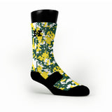 Oregon Digital Camo Custom HoopSwagg Socks