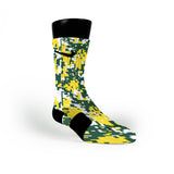 Oregon Digital Camo Custom Nike Elite Socks