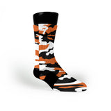 Oregon State Camo Custom Nike Elite Socks