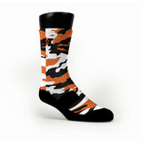 Oregon State Camo Custom HoopSwagg Socks