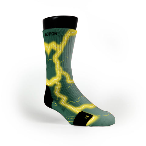 Oregon Storm Custom Notion Socks
