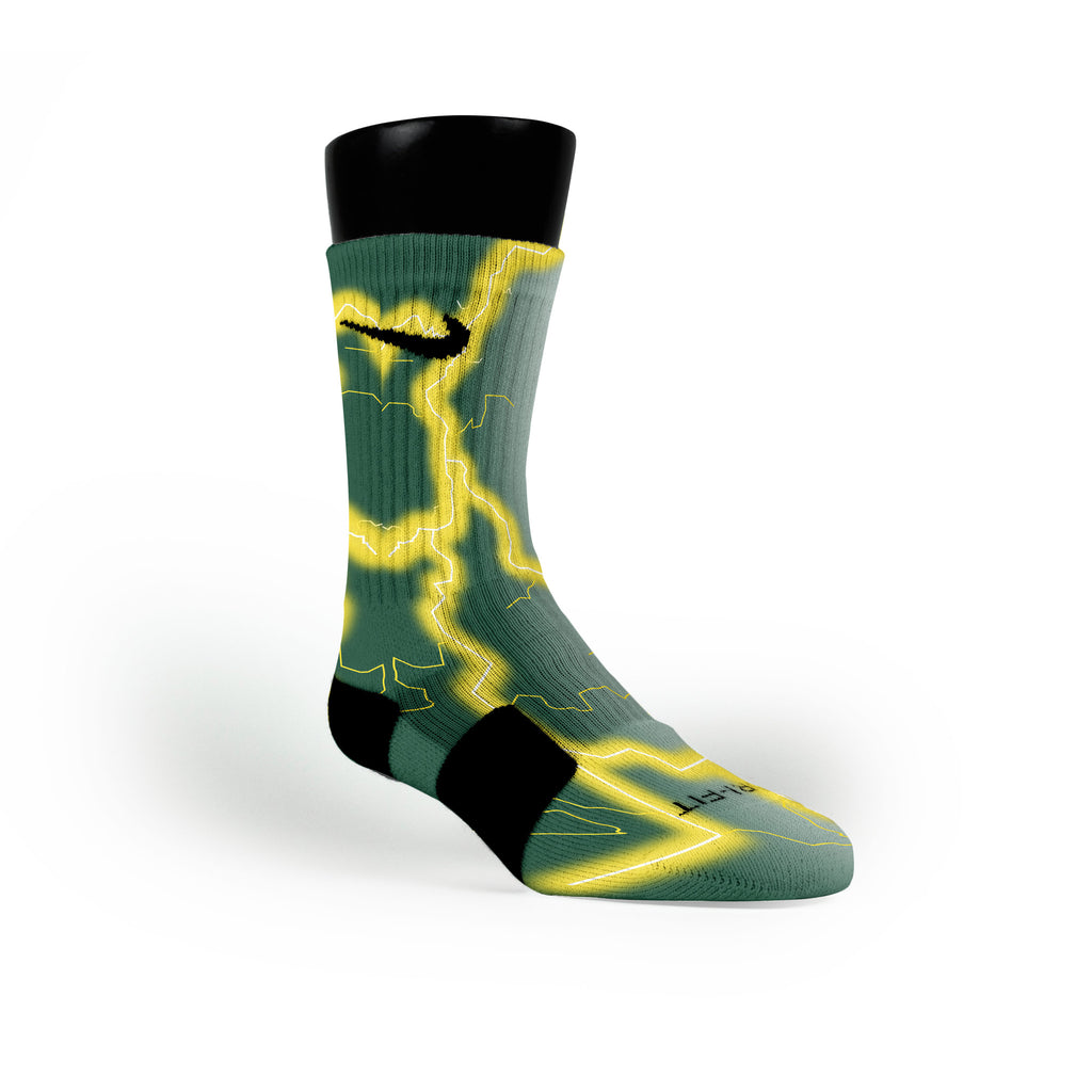 Oregon Storm Custom Nike Elite Socks