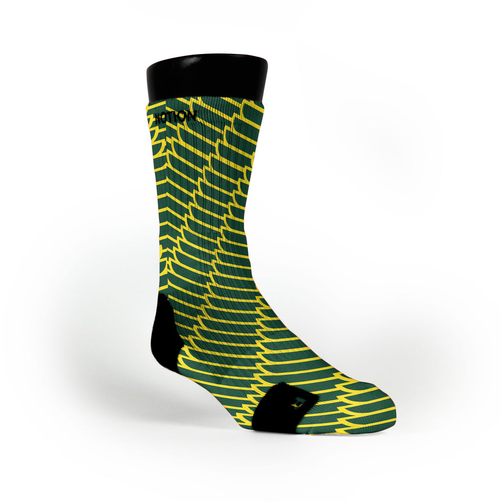 Oregon Wings Custom Notion Socks