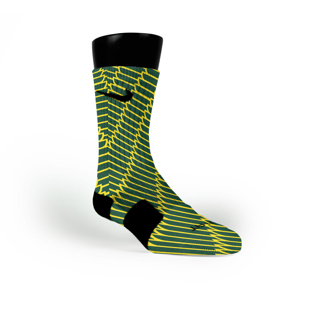 Oregon Wings Custom Nike Elite Socks