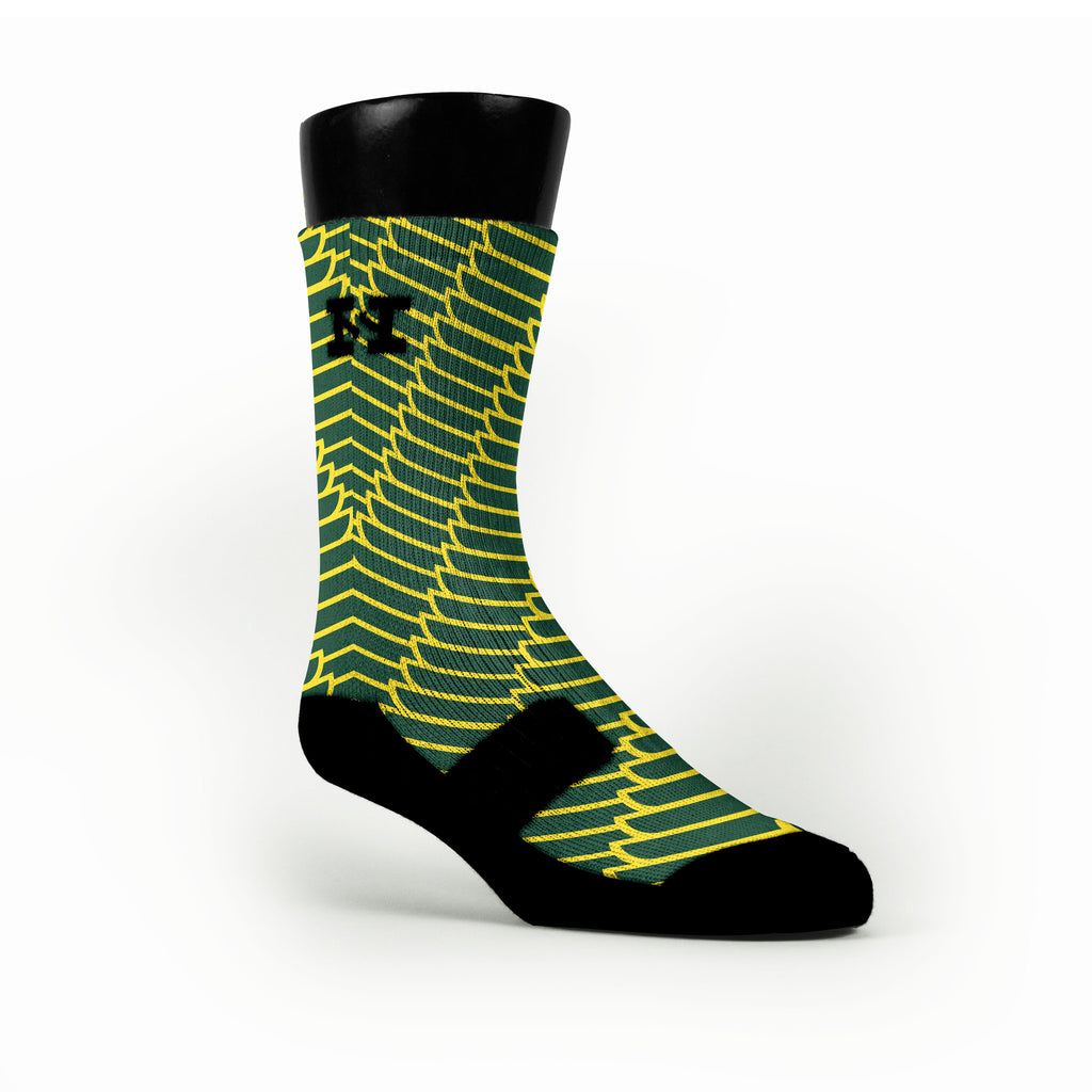 Oregon Wings Custom HoopSwagg Socks