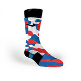 Patriotic Camo Custom Nike Elite Socks