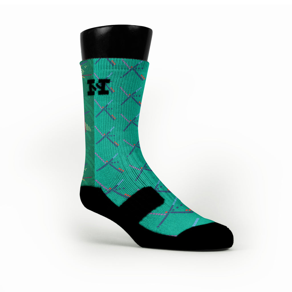 Pdx Carpet Twist Custom HoopSwagg Socks