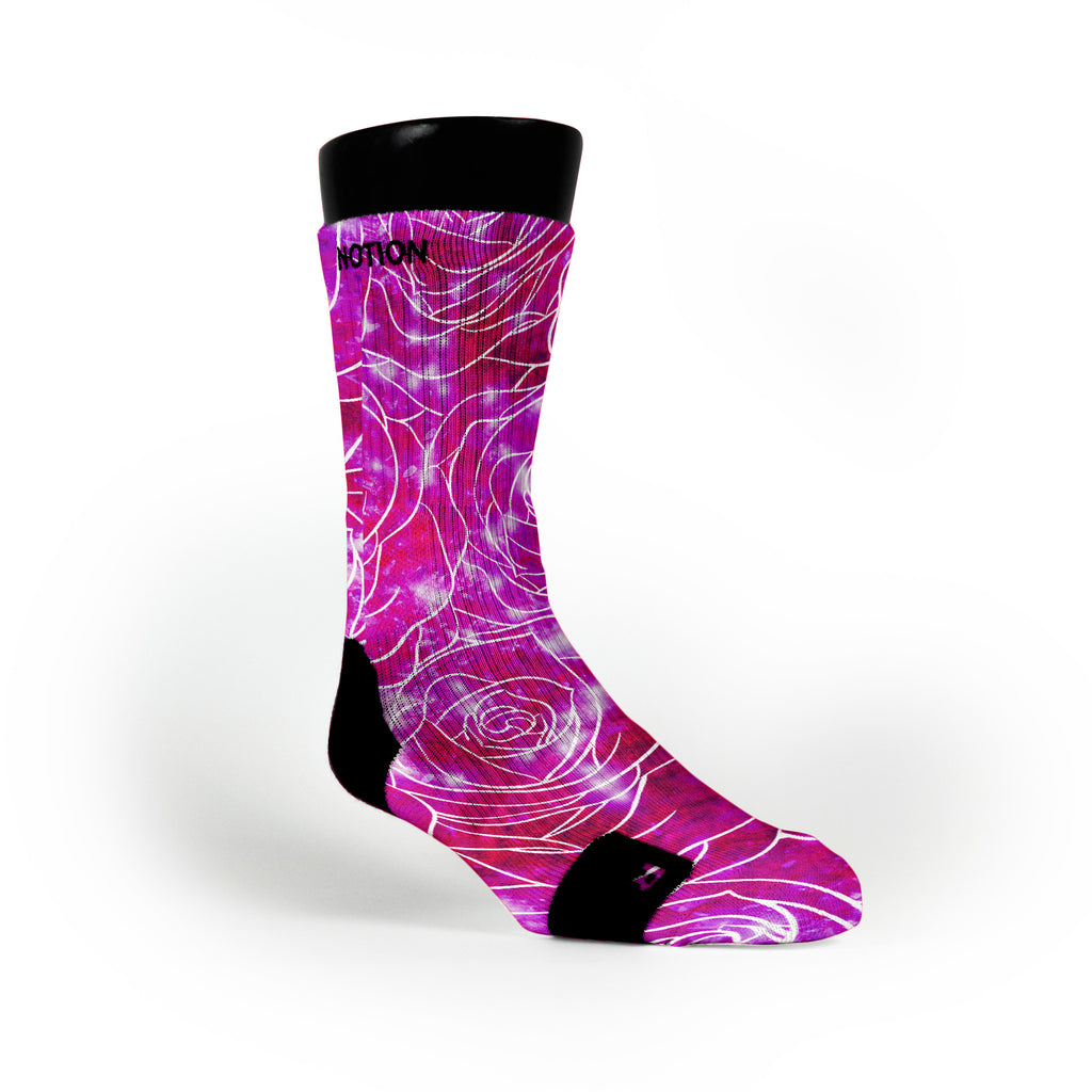 Pearl Galaxy Custom Notion Socks