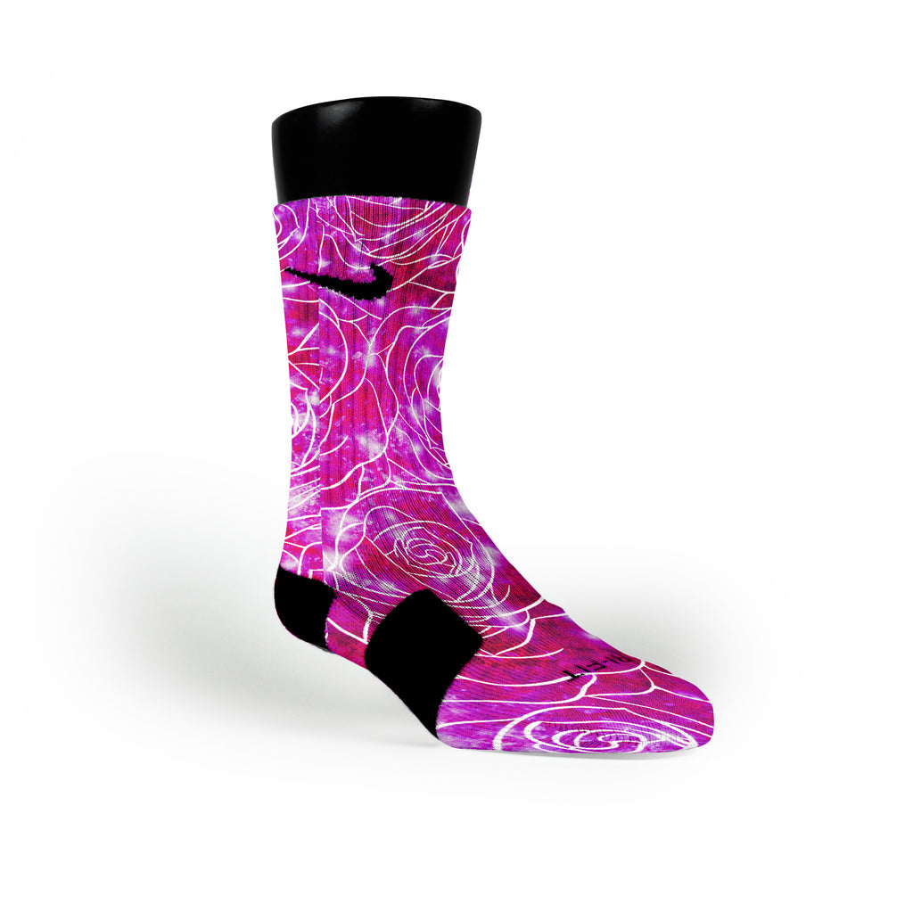 Pearl Galaxy Custom Nike Elite Socks