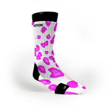 Pink Cheetah Custom Notion Socks
