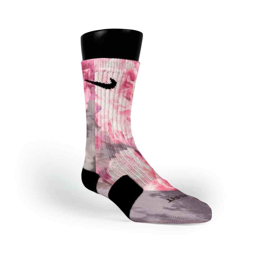 Pink Diesel Custom Nike Elite Socks