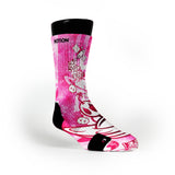 Pink Moon Man Custom Notion Socks