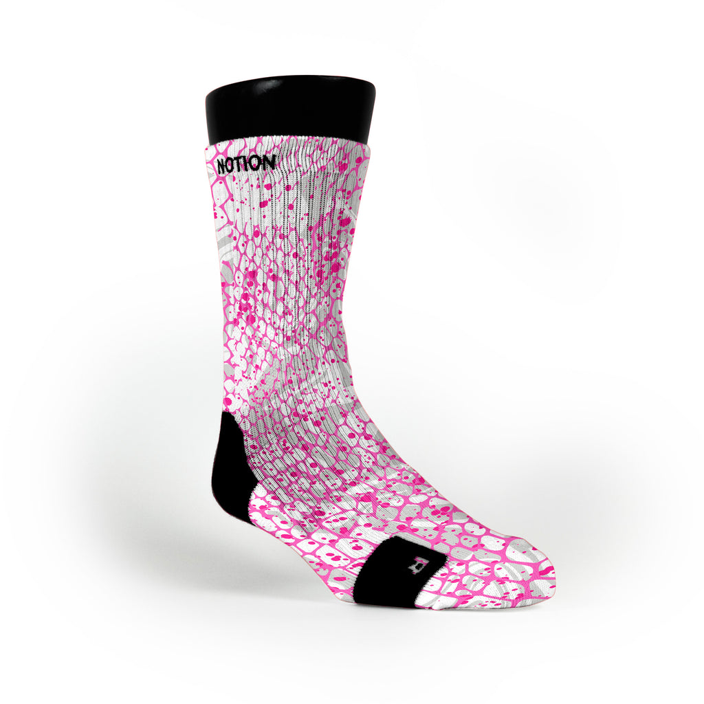 Pink Skin Custom Notion Socks