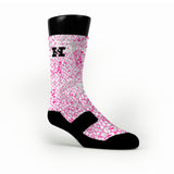 Pink Skin Custom HoopSwagg Socks