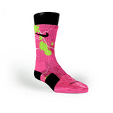 Pink Splats Custom Nike Elite Socks