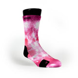 Pink Thunder Galaxies Custom Notion Socks