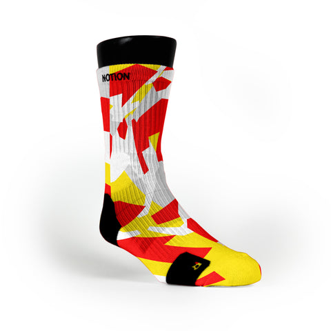 Pittsburgh Hardwood Camo Custom Notion Socks