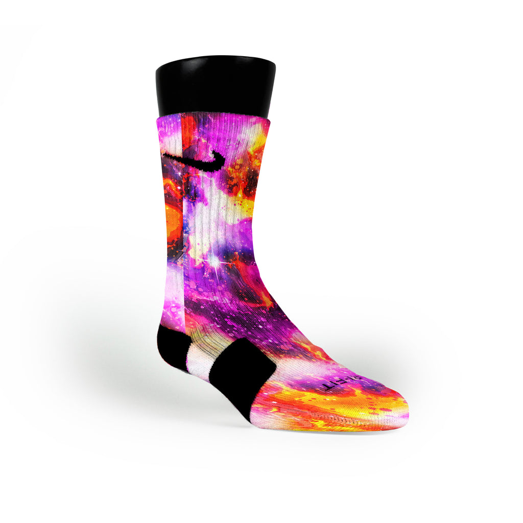 Planet Raygun Galaxies Custom Nike Elite Socks